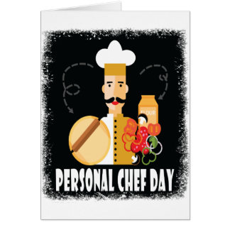 26th February - Personal Chef Day Card