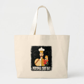 26th February - Personal Chef Day Large Tote Bag