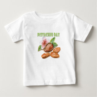 26th February - Pistachio Day - Appreciation Day Baby T-Shirt