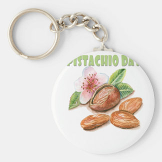 26th February - Pistachio Day - Appreciation Day Key Ring