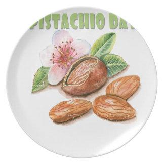 26th February - Pistachio Day - Appreciation Day Plate