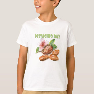 26th February - Pistachio Day - Appreciation Day T-Shirt