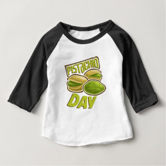 26th February - Pistachio Day Baby T-Shirt