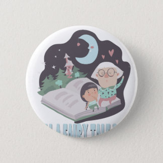 26th February - Tell A Fairy Tale Day 6 Cm Round Badge
