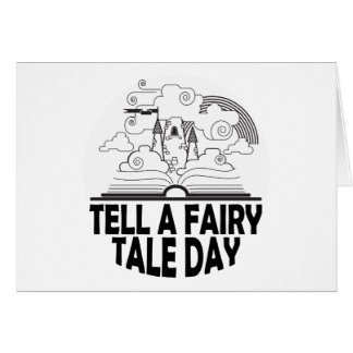 26th February - Tell A Fairy Tale Day Card