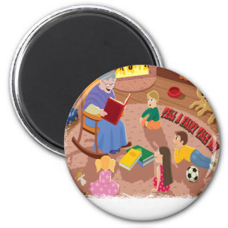 26th February - Tell A Fairy Tale Day Magnet