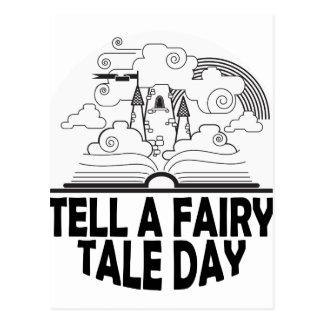 26th February - Tell A Fairy Tale Day Postcard