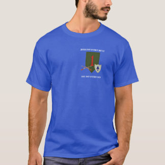26TH INFANTRY REGT. 1ST INFANTRY DIVISION T-SHIRT