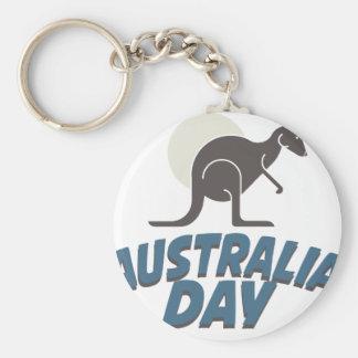 26th January - Australia Day Key Ring