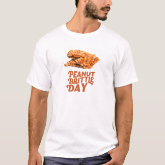 26th January - Peanut Brittle Day T-Shirt