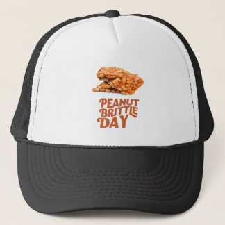 26th January - Peanut Brittle Day Trucker Hat
