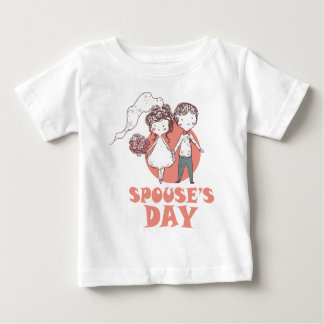 26th January - Spouse's Day Baby T-Shirt