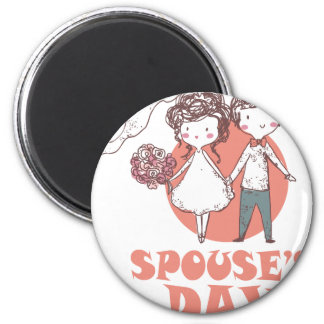 26th January - Spouse's Day Magnet