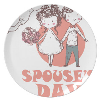 26th January - Spouse's Day Party Plates