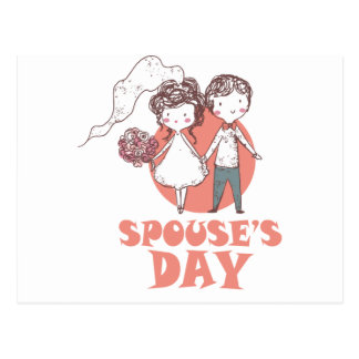 26th January - Spouse's Day Postcard