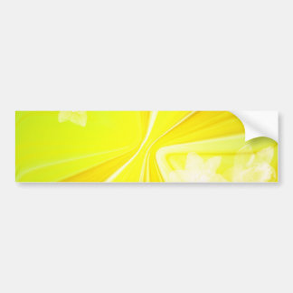 272188 yellow background greeting card stationery bumper sticker