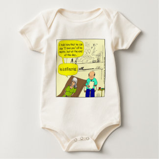 273 end of the day still married cartoon baby bodysuit