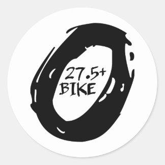 27.5+ MOUNTAIN BIKE WHEEL CLASSIC ROUND STICKER