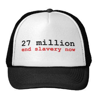 27 million end slavery now hat