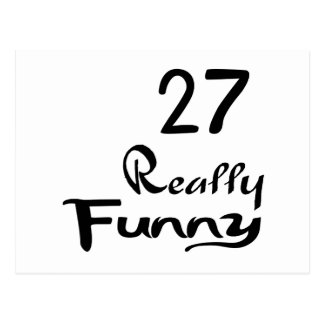 27 Really Funny Birthday Designs Postcard