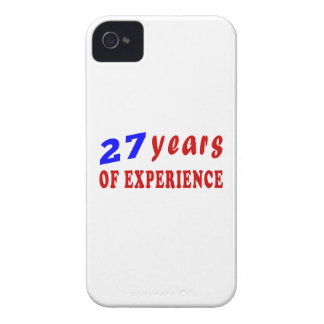 27 years of experience iPhone4 case