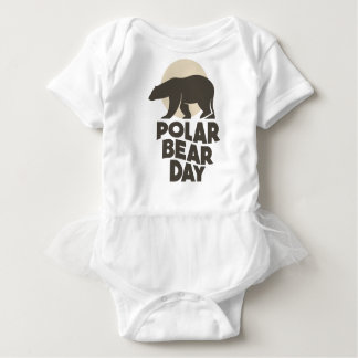 27th February - Polar Bear Day Baby Bodysuit