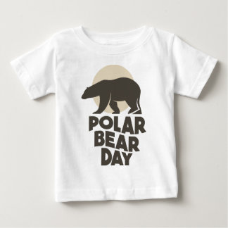 27th February - Polar Bear Day Baby T-Shirt