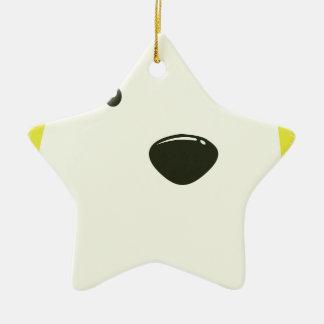 27th February - Polar Bear Day Ceramic Star Decoration