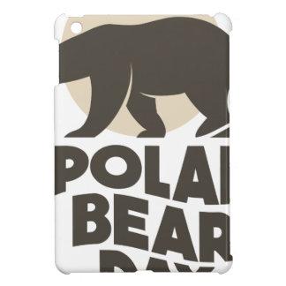 27th February - Polar Bear Day iPad Mini Case