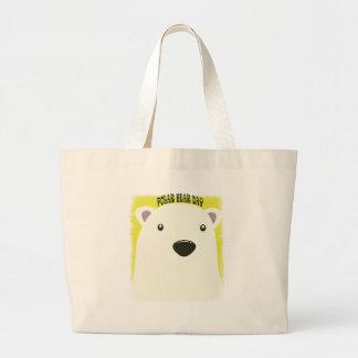 27th February - Polar Bear Day Large Tote Bag