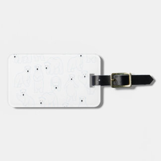 27th February - Polar Bear Day Luggage Tag