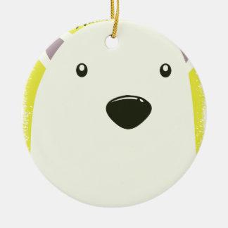 27th February - Polar Bear Day Round Ceramic Decoration