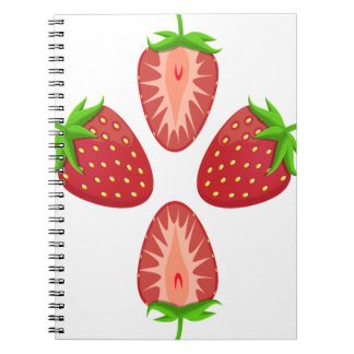 27th February - Strawberry Day - Appreciation Day Notebook