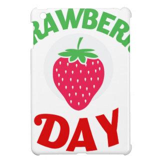 27th February - Strawberry Day iPad Mini Cases