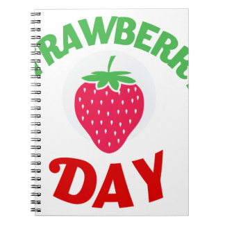 27th February - Strawberry Day Notebooks
