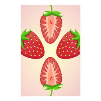 27th February - Strawberry Day Personalised Stationery
