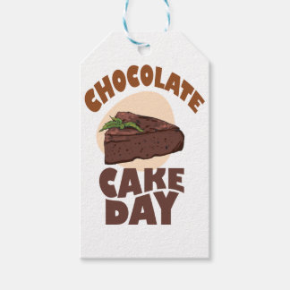 27th January - Chocolate Cake Day Gift Tags