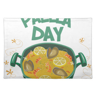 27th March - Spanish Paella Day Place Mats