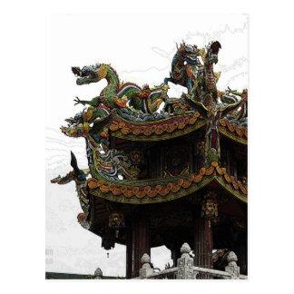 285 - Dragon Temple Postcard