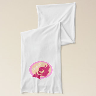 2865075 Women's March White Jersey Scarf