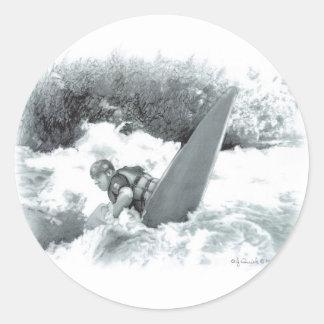 28_NRA_Bridge2 Classic Round Sticker