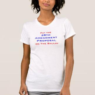 28th Amendment Tee Shirt