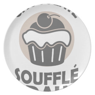 28th February - Chocolate Soufflé Day Plate