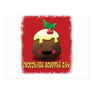 28th February - Chocolate Souffle Day Postcard