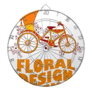 28th February - Floral Design Day Dartboard