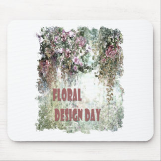 28th February - Floral Design Day Mouse Pad