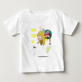 28th February - Tooth Fairy Day - Appreciation Day Baby T-Shirt