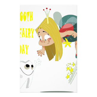 28th February - Tooth Fairy Day - Appreciation Day Stationery