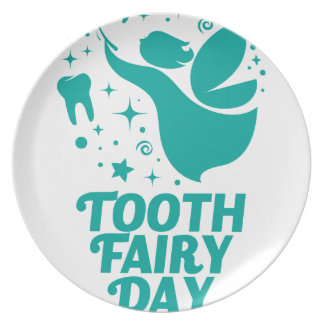 28th February - Tooth Fairy Day Plate