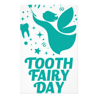28th February - Tooth Fairy Day Stationery